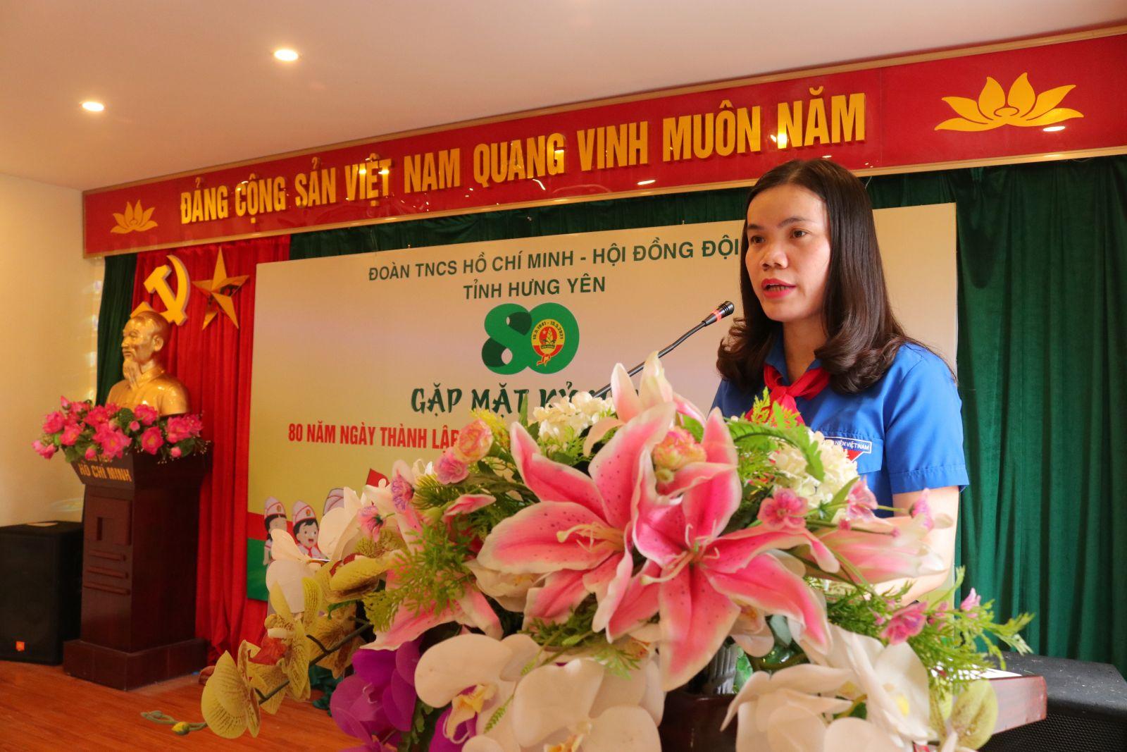 Tỉnh đoàn – Hội đồng Đội tỉnh: Gặp mặt kỷ niệm 80 năm thành lập Đội TNTP Hồ Chí Minh