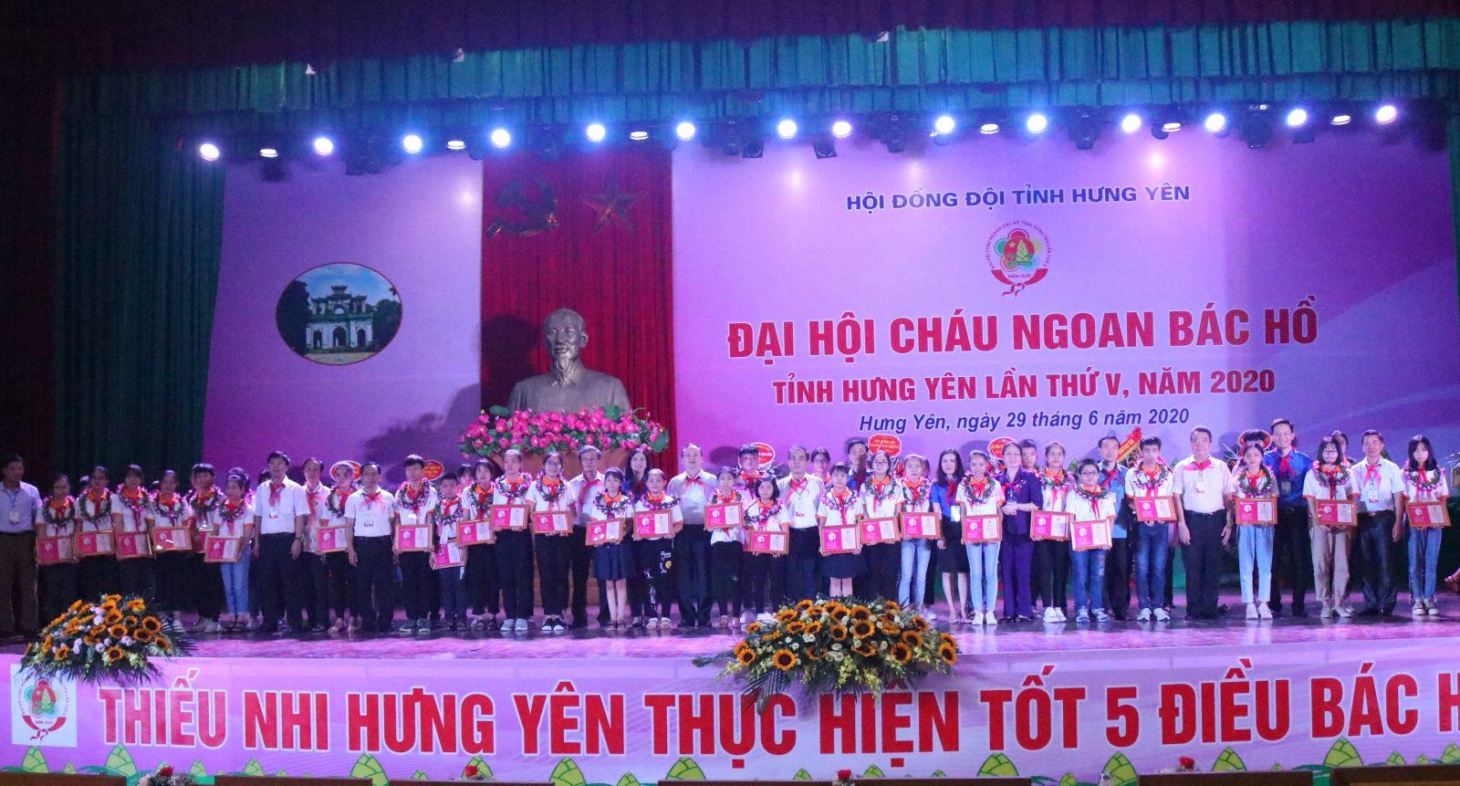 Hội đồng Đội tỉnh Hưng Yên: Đại hội Cháu ngoan Bác Hồ tỉnh Hưng Yên lần thứ V - năm 2020