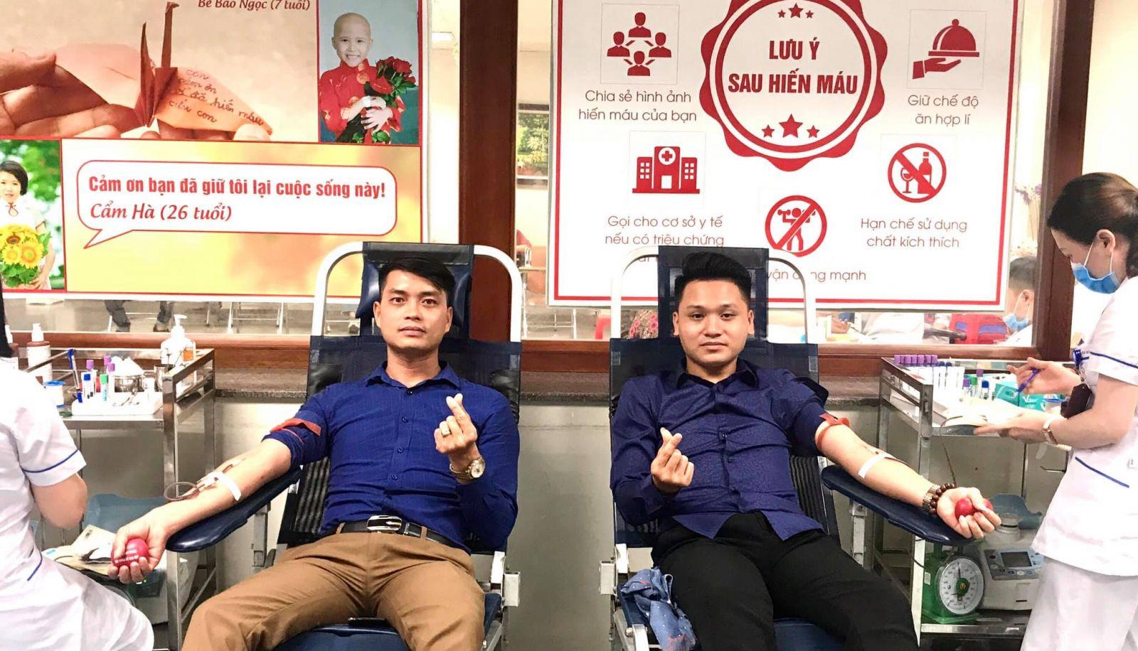 Chàng trai trẻ 28 lần hiến máu tình nguyện