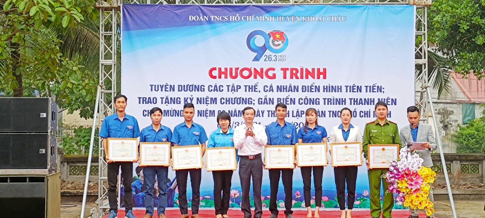 Đoàn TNCS Hồ Chí Minh huyện Khoái Châu học tập và làm theo Bác