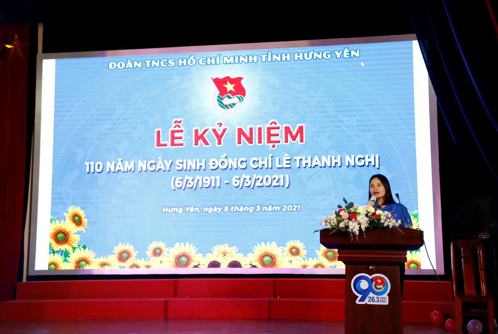 Lễ kỷ niệm 110 năm ngày sinh đồng chí Lê Thanh Nghị