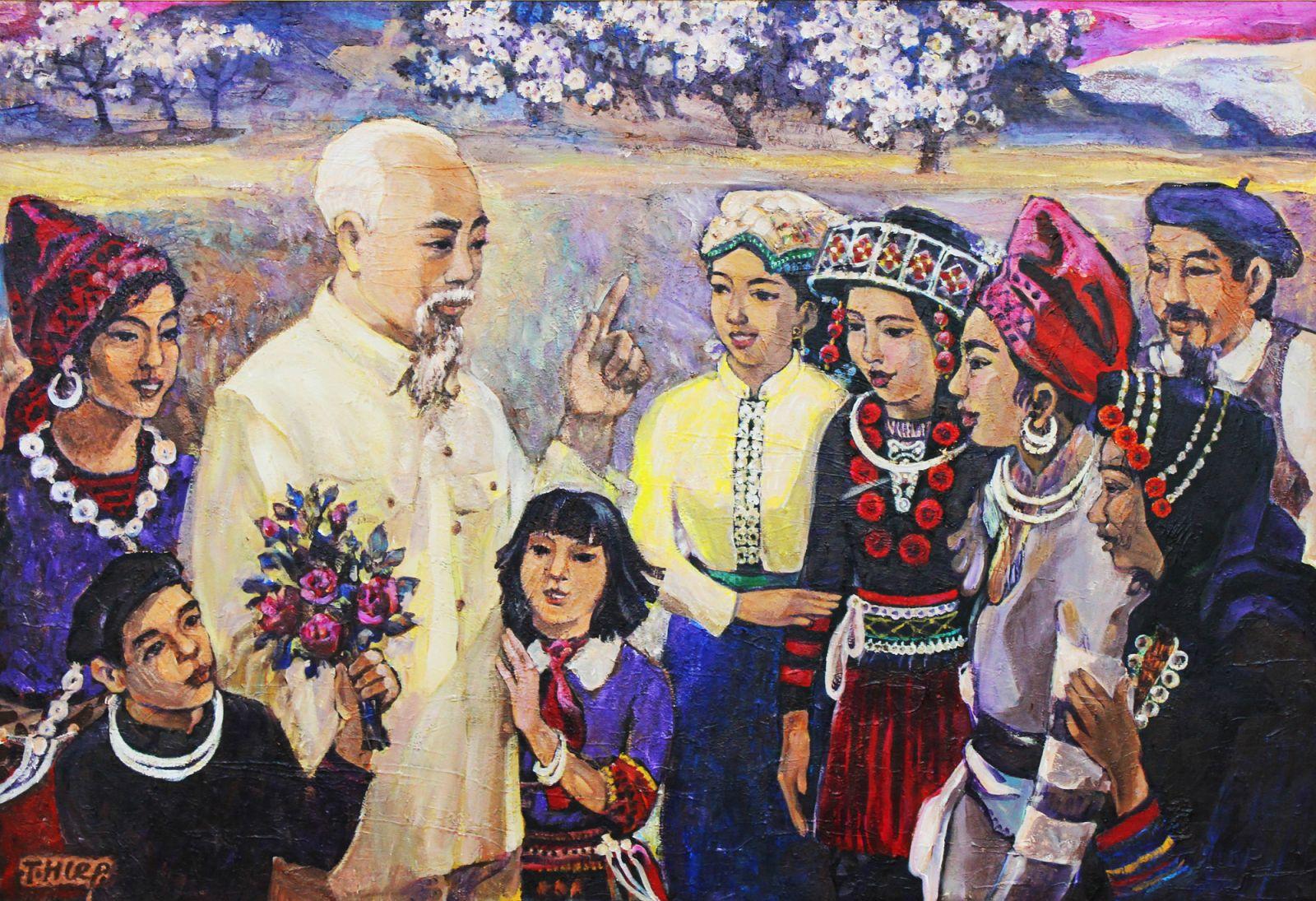 Hồ Chí Minh - Hiện thân của đổi mới; tư tưởng, đạo đức, phong cách của Người soi sáng sự nghiệp đổi mới của Đảng và nhân dân ta