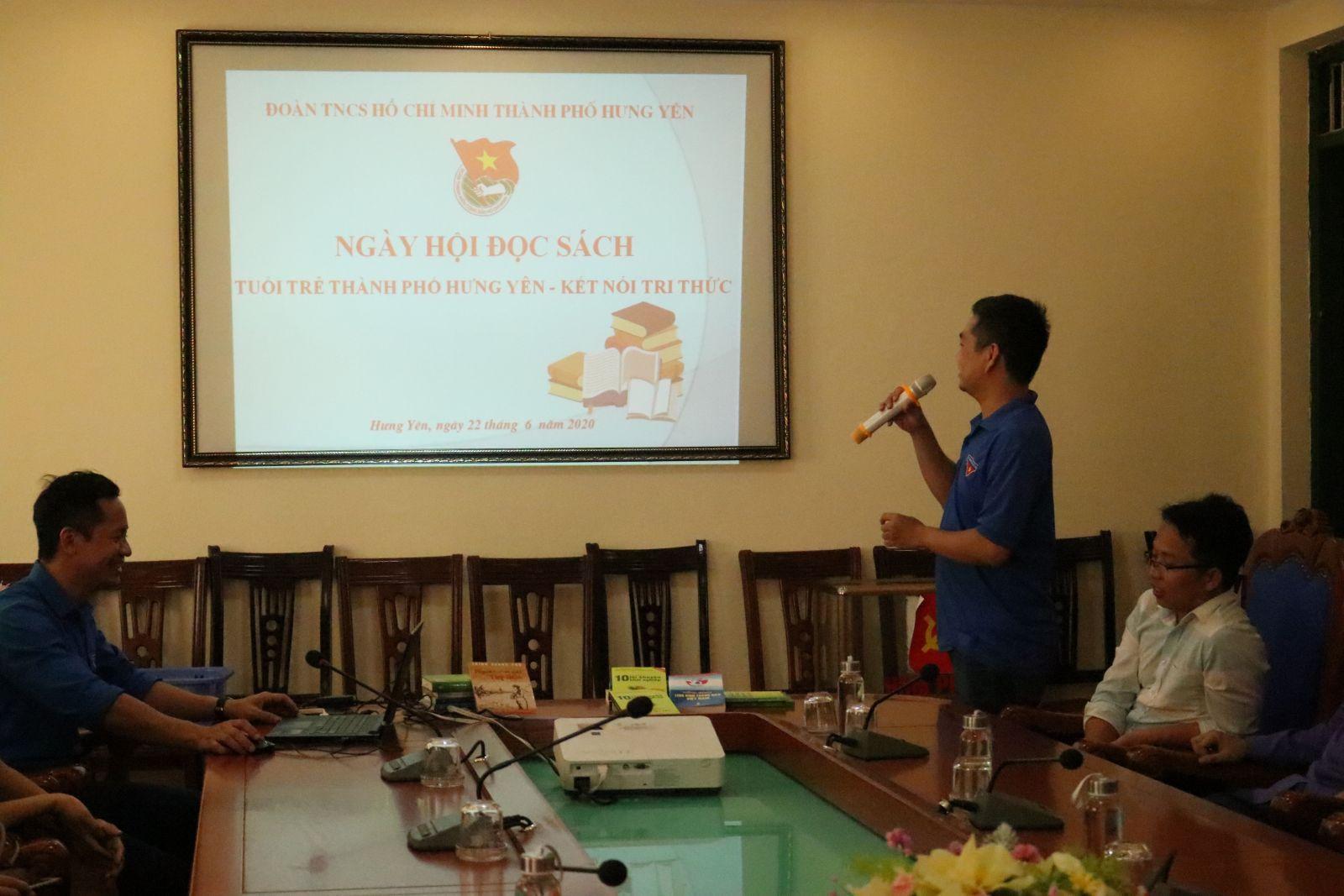 Thành đoàn Hưng Yên tổ chức Ngày hội đọc sách - Kết nối tri thức