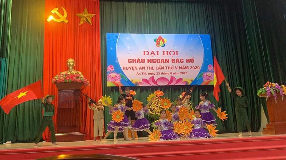Hội đồng Đội huyện Ân Thi: tổ chức Đại hội Cháu ngoan Bác Hồ lần thứ V, năm 2020