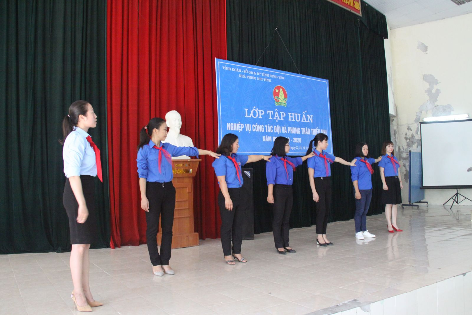 Hội đồng Đội tỉnh tổ chức Lớp tập huấn nghiệp vụ công tác Đội và phong trào thiếu nhi năm học 2019 - 2020