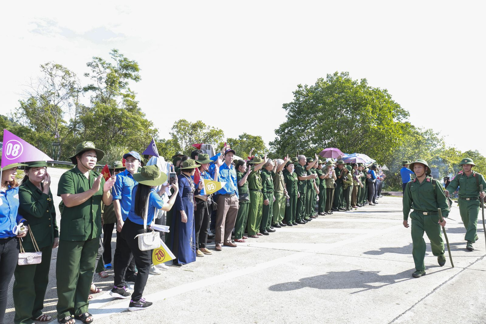 Tuổi trẻ Hưng Yên hành trình thăm địa chỉ đỏ  của lực lượng Cựu TNXP tỉnh Hưng Yên tham gia mở đường Trường Sơn
