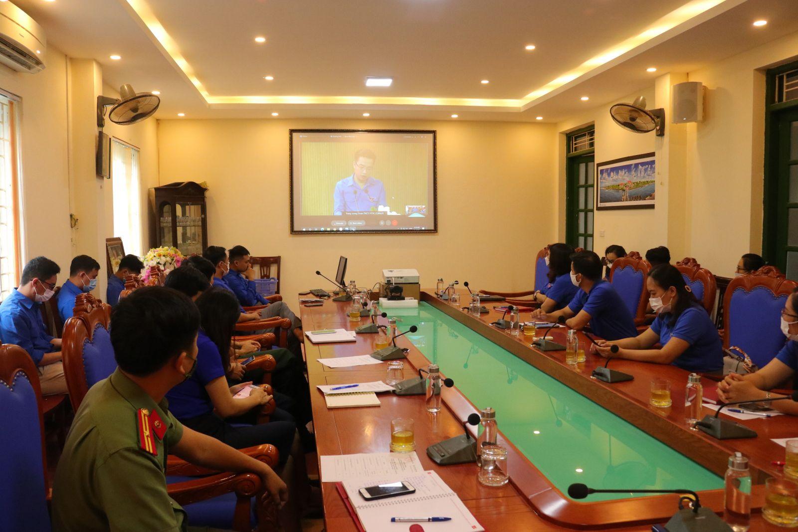 Ban Thường vụ Tỉnh đoàn tổ chức hưởng ứng Lễ phát động Cuộc thi trực tuyến tìm hiểu Nghị quyết Đại hội XIII Đảng Cộng sản Việt Nam