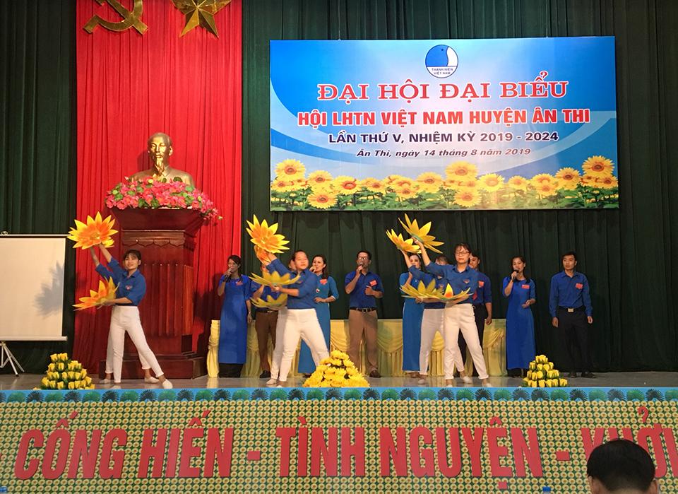 Đại hội đại biểu Hội Liên hiệp thanh niên Việt Nam huyện Ân Thi lần thứ V, nhiệm kỳ 2019 - 2024