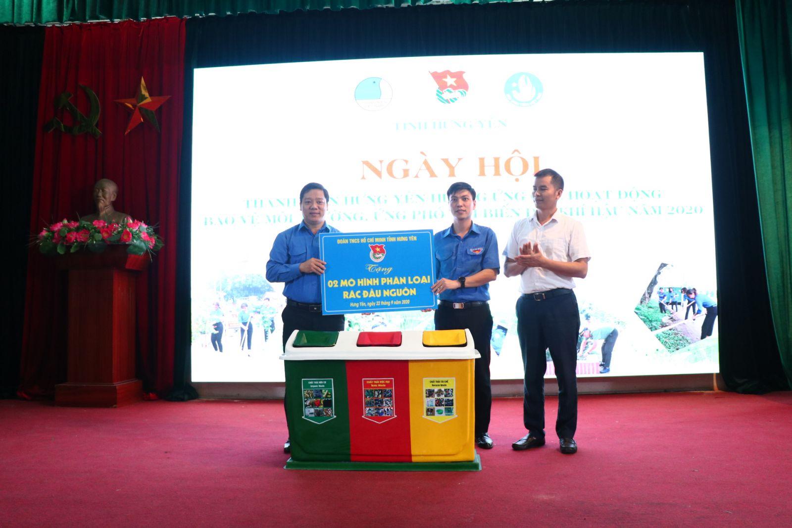 Ngày hội thanh niên Hưng Yên hưởng ứng các hoạt động  bảo vệ môi trường, ứng phó với biến đổi khí hậu