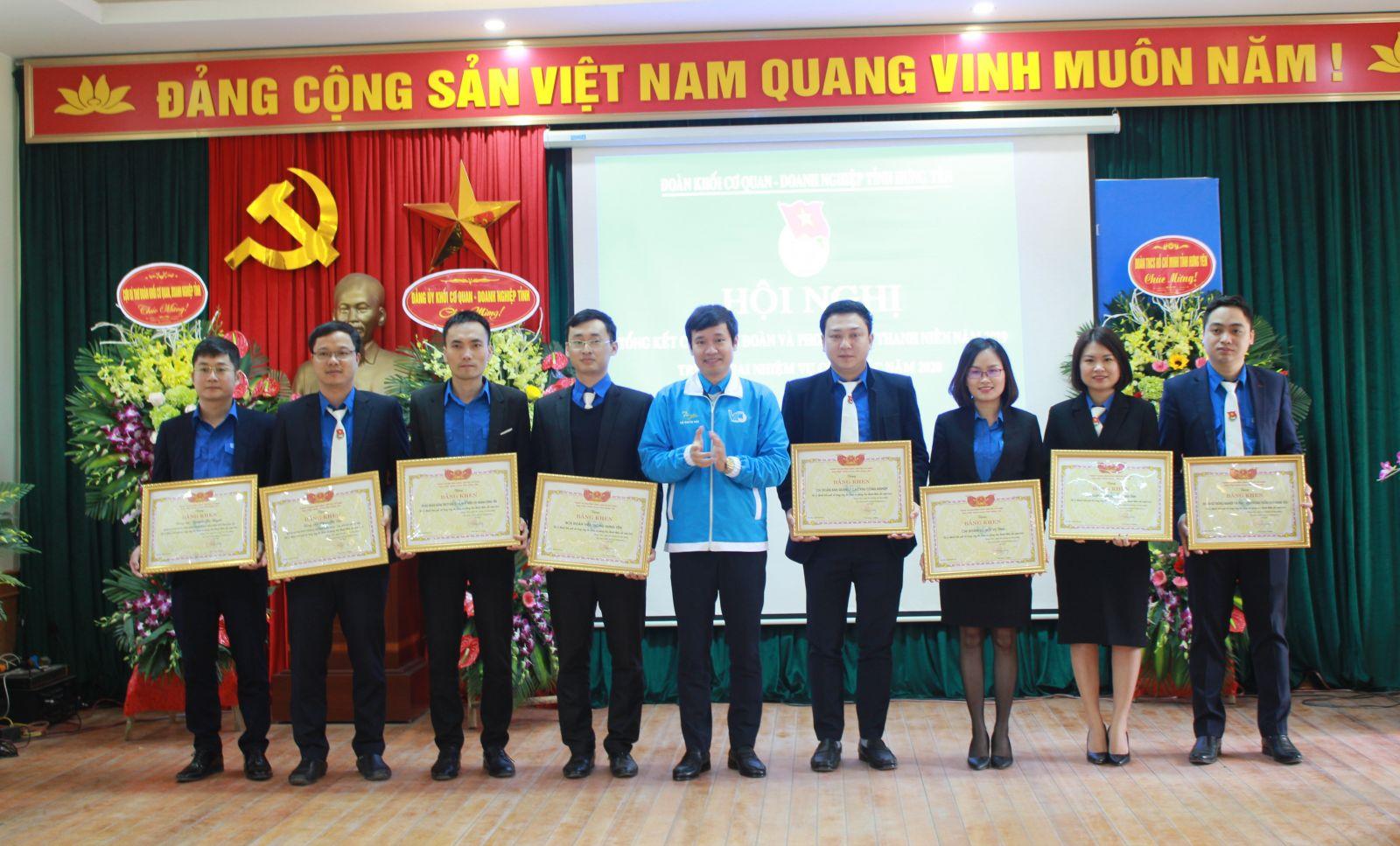 Đoàn khối Cơ quan – Doanh nghiệp tỉnh tổ chức Hội nghị tổng kết công tác Đoàn năm 2019 và triển khai nhiệm vụ công tác năm 2020