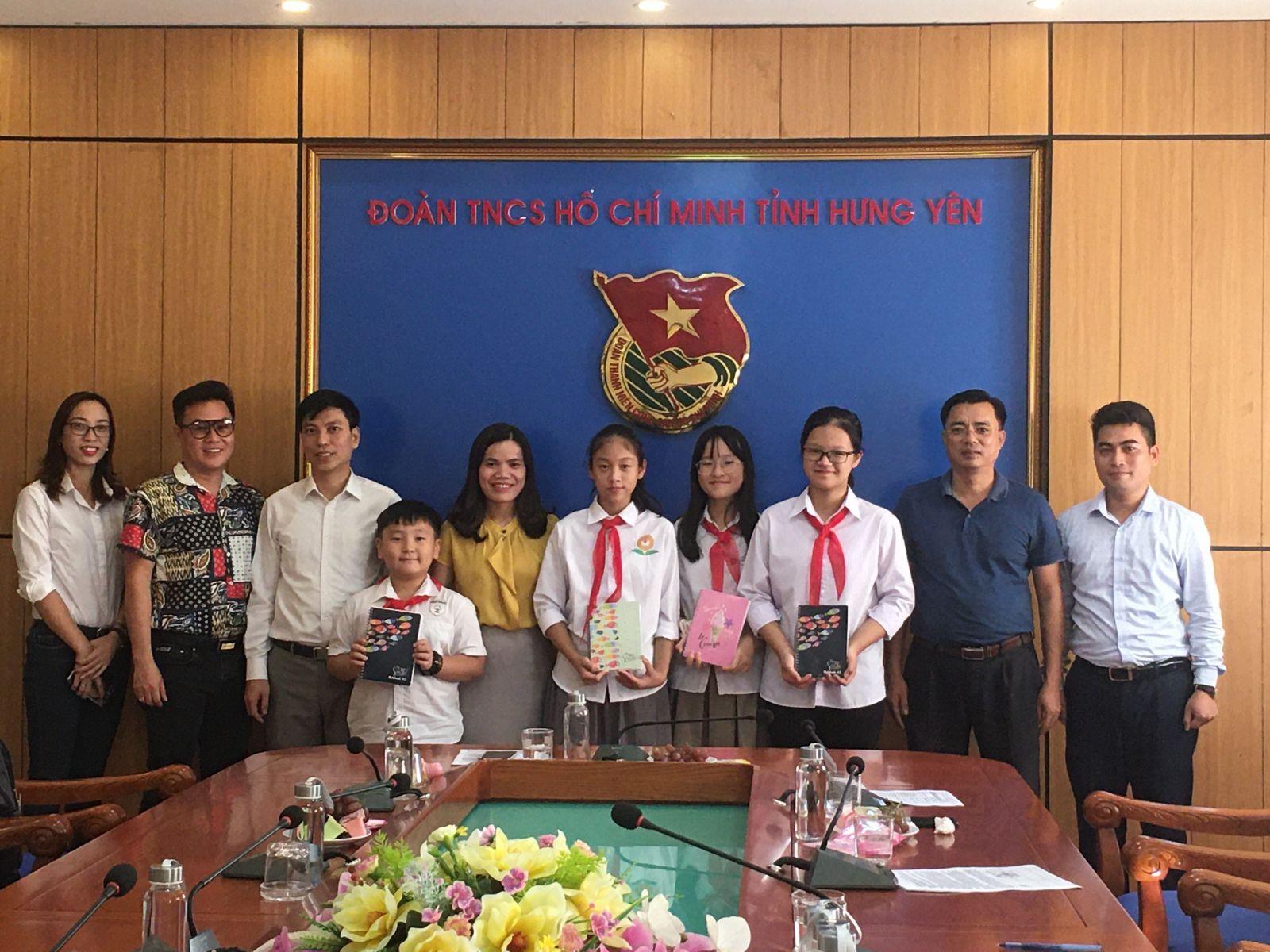 Hưng Yên: gặp mặt Đoàn Đại biểu thiếu nhi tham dự Đại hội Cháu ngoan Bác Hồ toàn quốc lần thứ IX, năm 2020