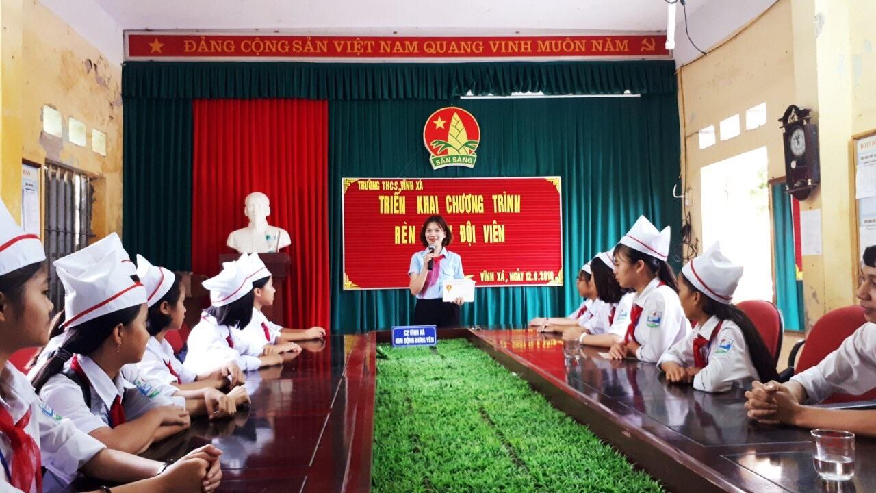 Kim Động: Chỉ đạo, triển khai chương trình Rèn luyện Đội viên