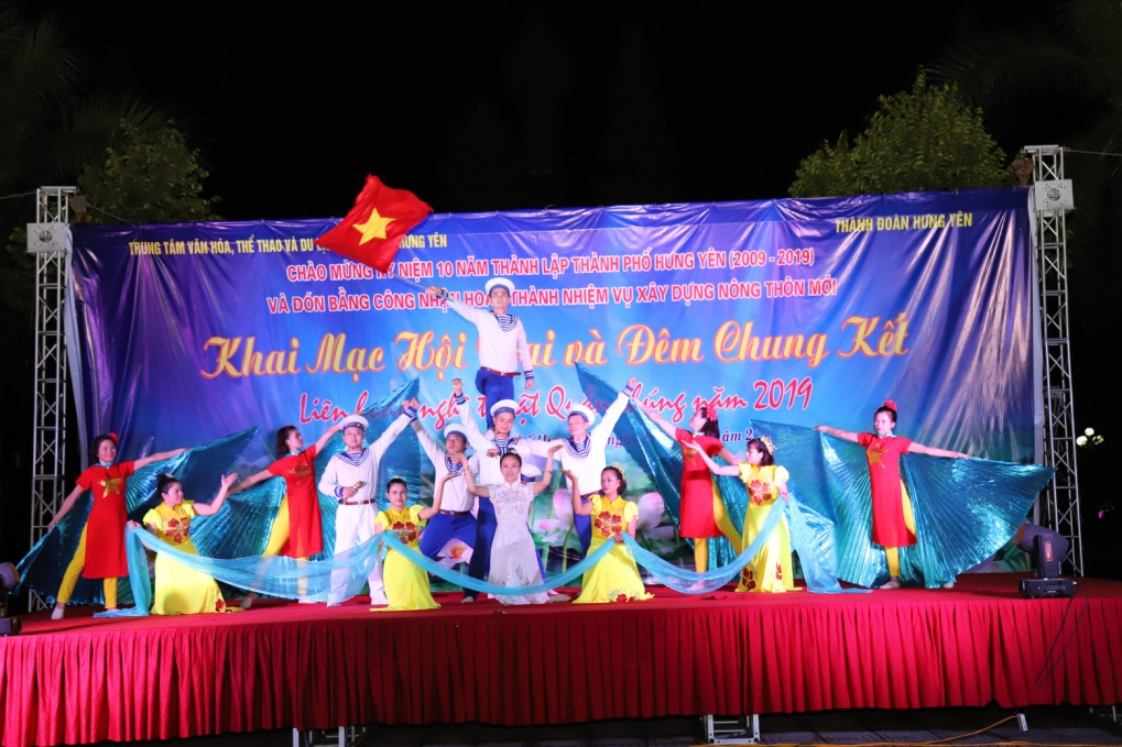 Thành đoàn Hưng Yên Khai mạc Hội trại thanh thiếu nhi và chung kết Liên hoan nghệ thuật quần chúng thành phố Hưng Yên năm 2019