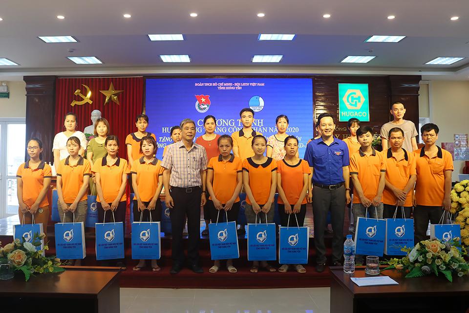 Ban Thường vụ Tỉnh đoàn, Hội LHTN Việt Nam tỉnh đồng hành với thanh niên công nhân, Hưởng ứng Tháng công nhân năm 2020