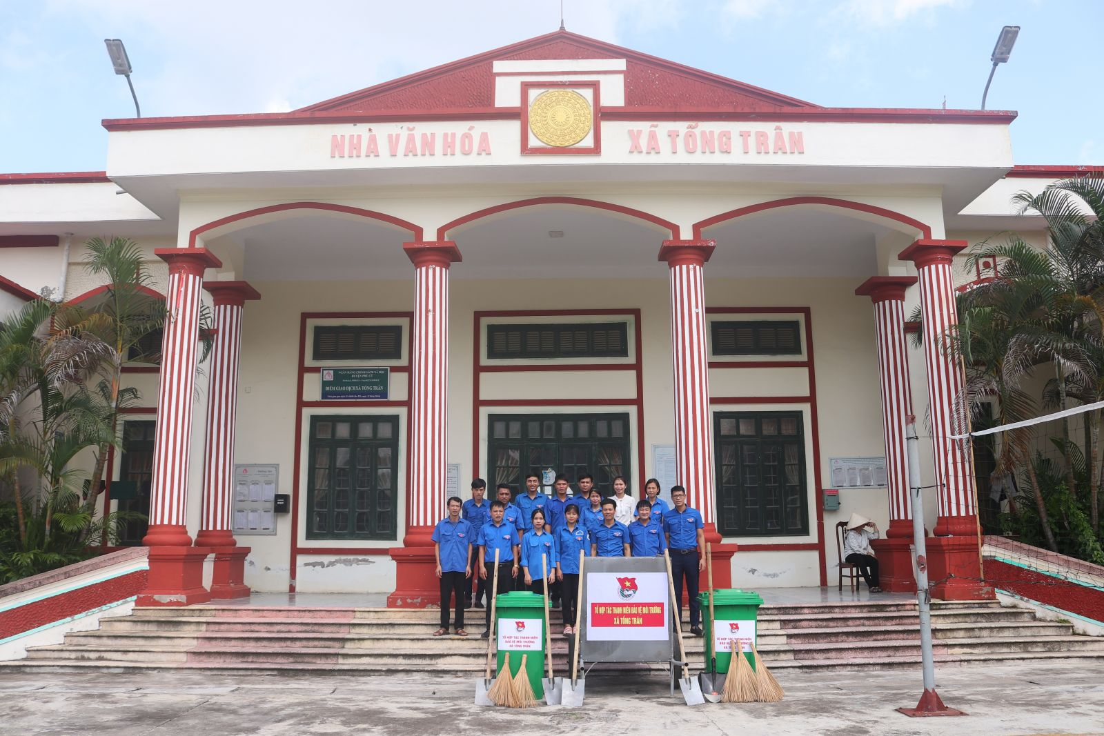 Ra mắt Tổ hợp tác thanh niên bảo vệ môi trường xã Tống Trân