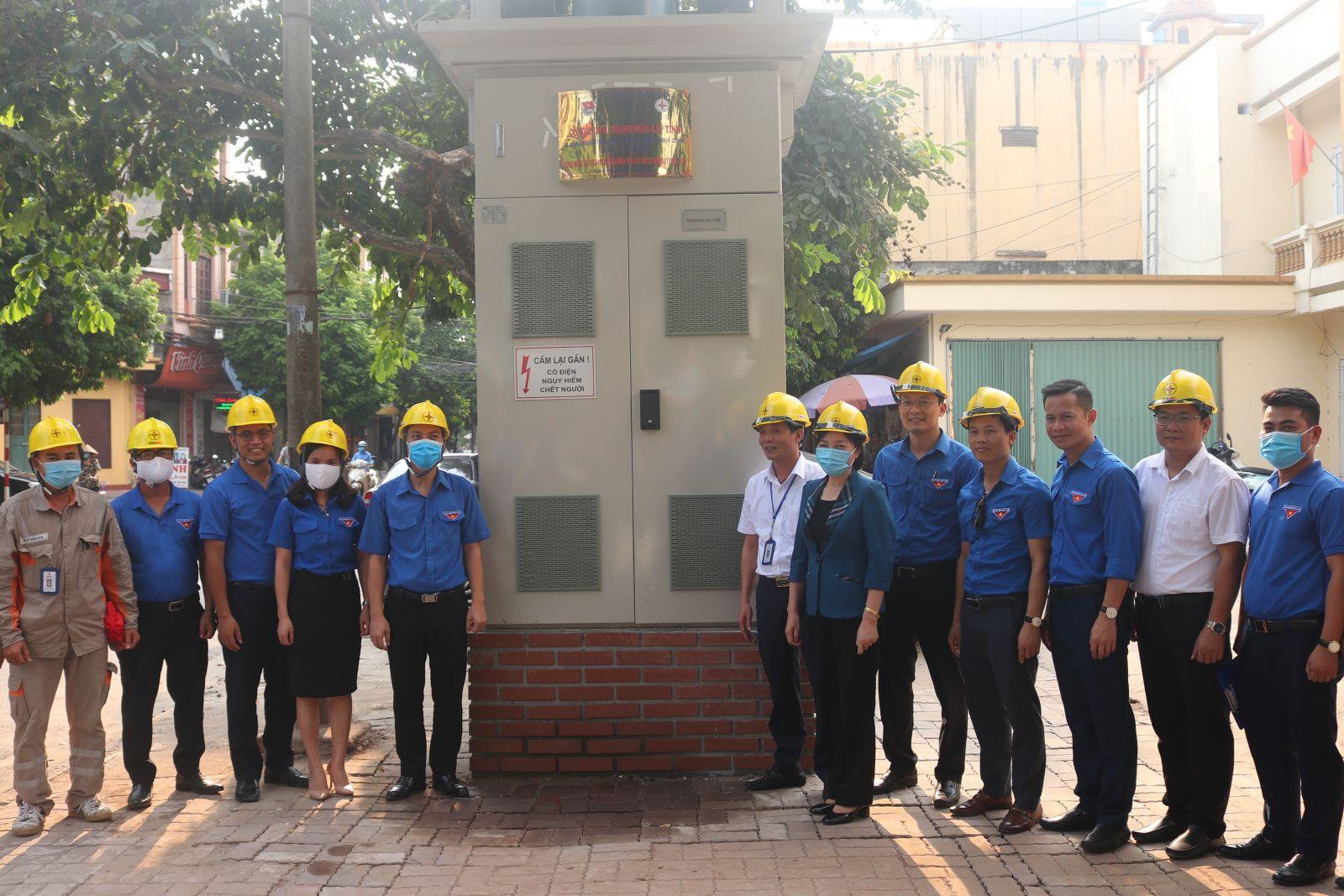 Ban Thường vụ Tỉnh đoàn Khánh thành Công trình thanh niên cấp tỉnh năm 2020