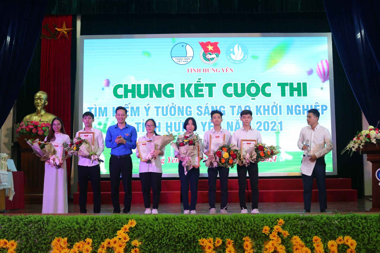 """Chung kết Cuộc thi """"Tìm kiếm ý tưởng sáng tạo khởi nghiệp""""  tỉnh Hưng Yên năm 2021"""