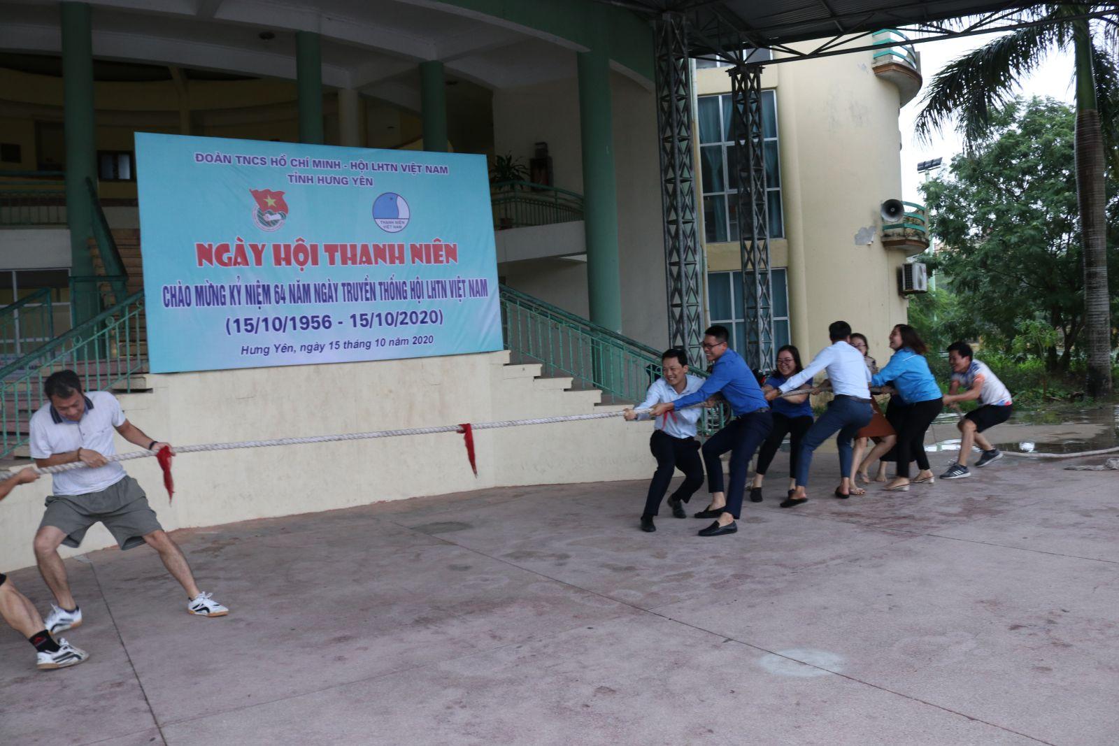 """Ban Thường vụ Tỉnh đoàn, Hội Liên hiệp thanh niên Việt Nam tỉnh tổ chức Chương trình """"Ngày hội thanh niên"""" năm 2020"""