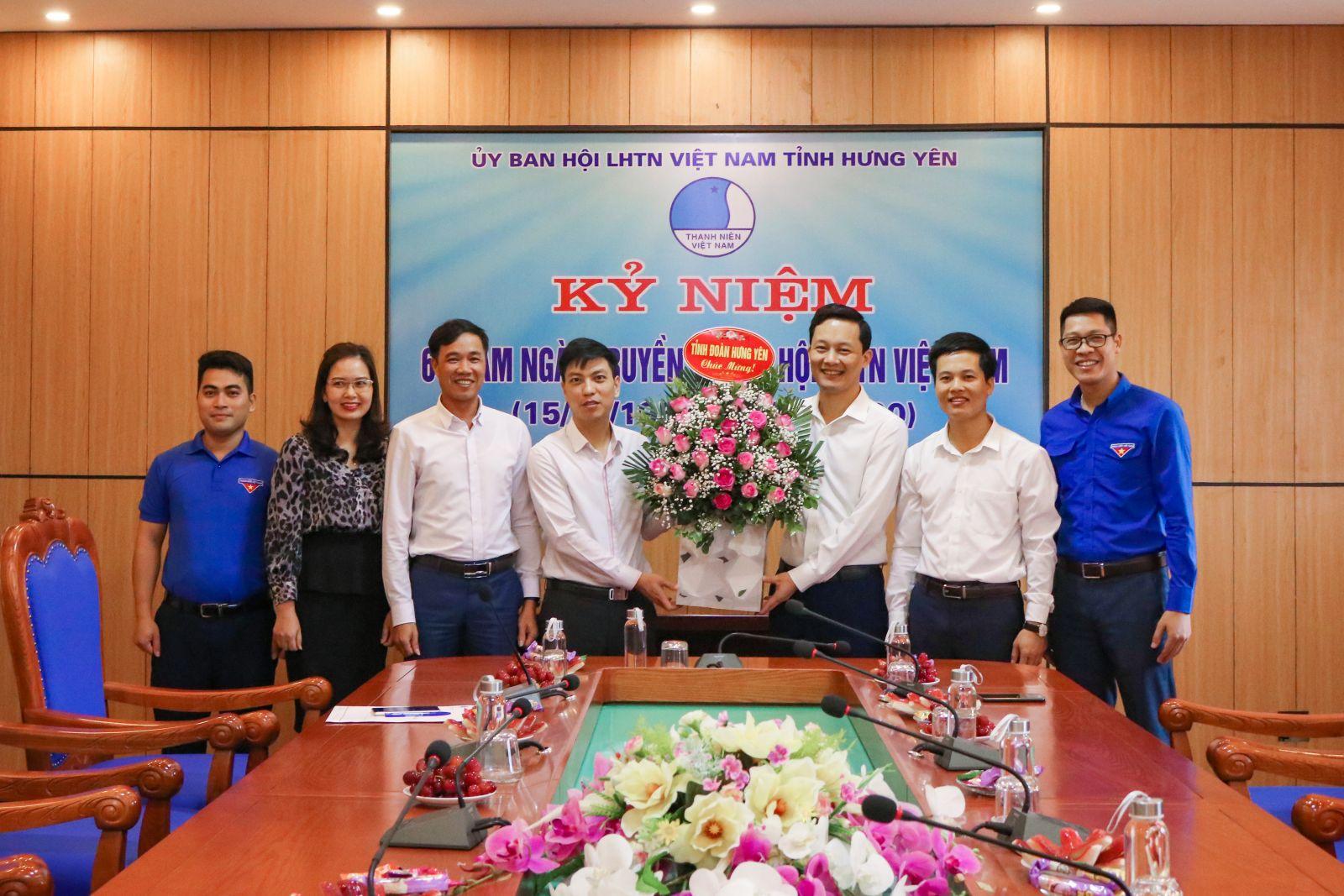 Hội Liên hiệp thanh niên Việt Nam tỉnh kỷ niệm 64 năm Ngày truyền thống Hội LHTN Việt Nam và công bố quyết định về công tác cán bộ