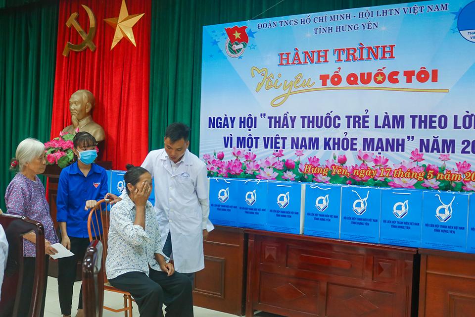 """Ban Thường vụ Tỉnh đoàn, Hội Liên hiệp thanh niên Việt Nam tỉnh tổ chức Chương trình """"Ngày hội Thầy thuốc trẻ làm theo lời Bác,  vì một Việt Nam khỏe mạnh"""" năm 2020"""