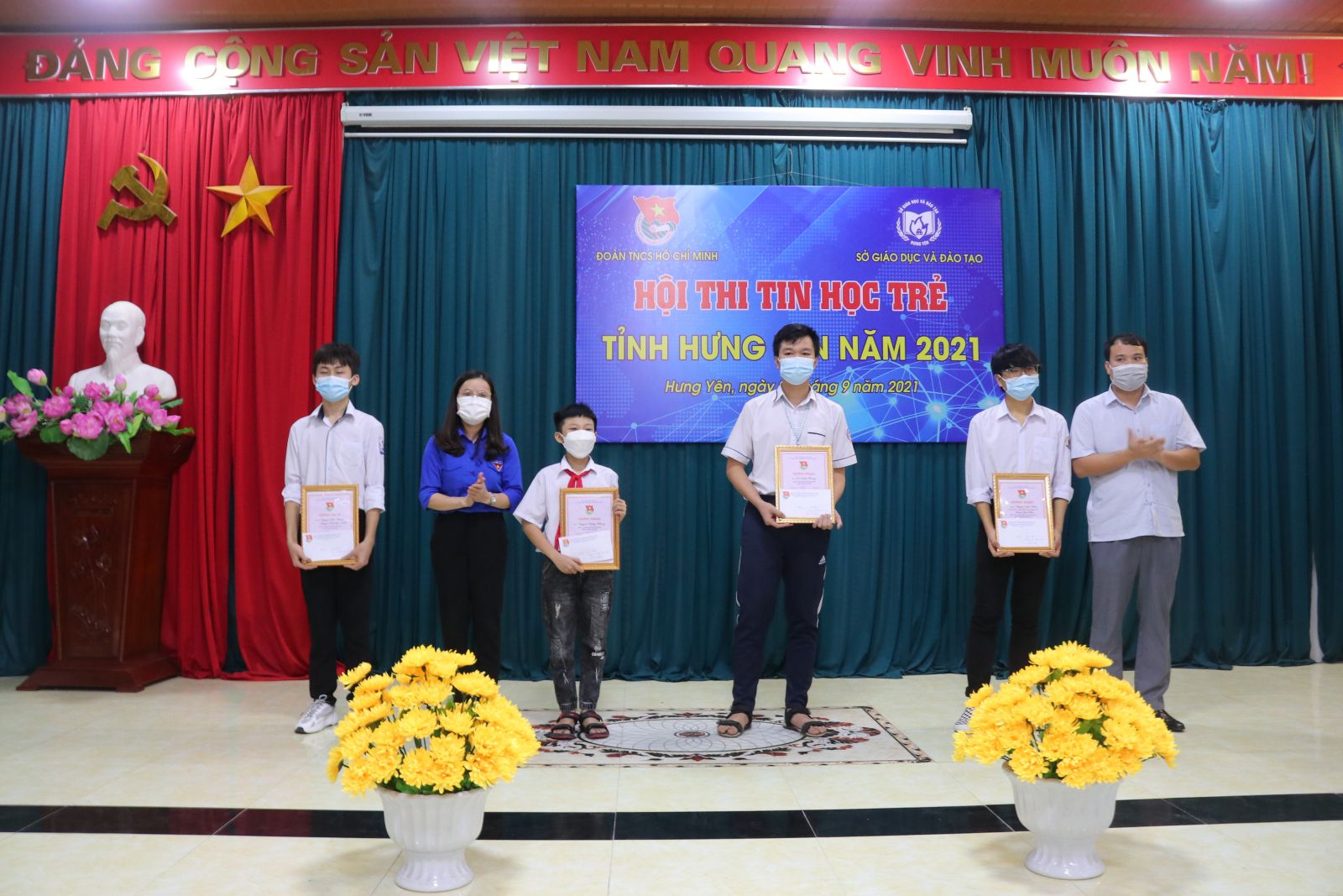 Tỉnh đoàn – Sở Giáo dục & đào tạo tỉnh Tổ chức Hội thi Tin học trẻ tỉnh Hưng Yên năm học 2020 – 2021