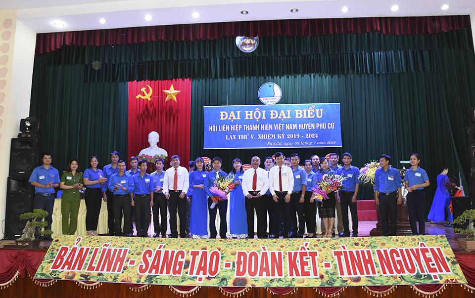 Đại hội đại biểu Hội Liên hiệp thanh niên Việt Nam huyện Phù Cừ lần thứ V, nhiệm kỳ 2019 - 2024