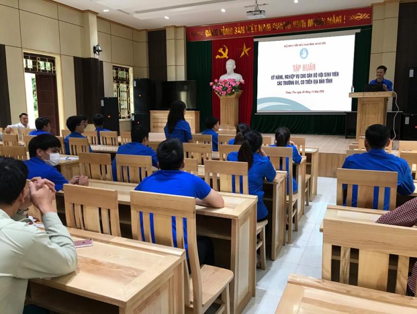 Tập huấn kỹ năng, nghiệp vụ cho cán bộ Hội Sinh viên