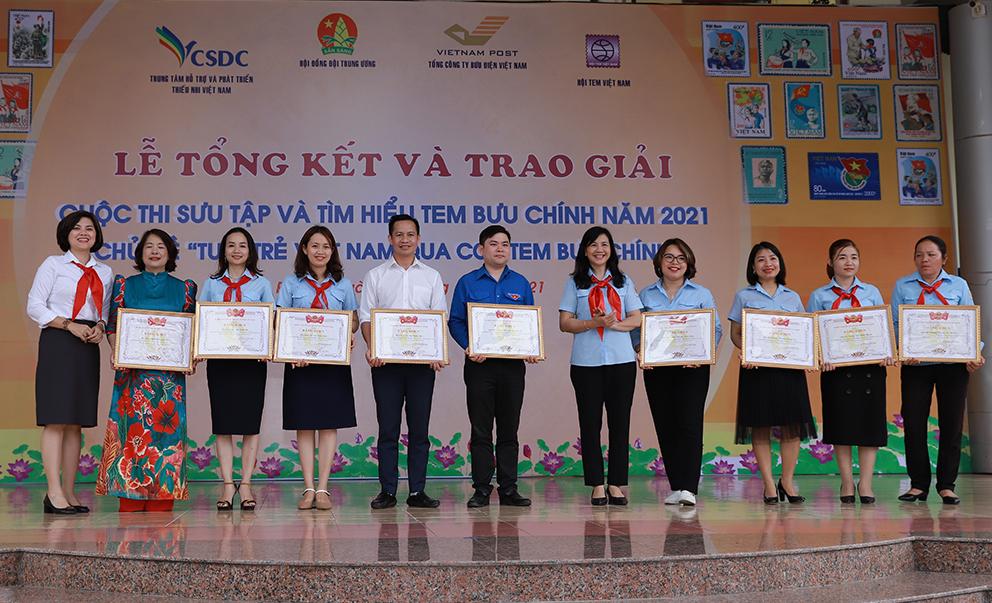 Hưng Yên đạt giải cao tại Lễ Tổng kết cuộc thi Sưu tầm và tìm hiểu tem Bưu chính năm 2021