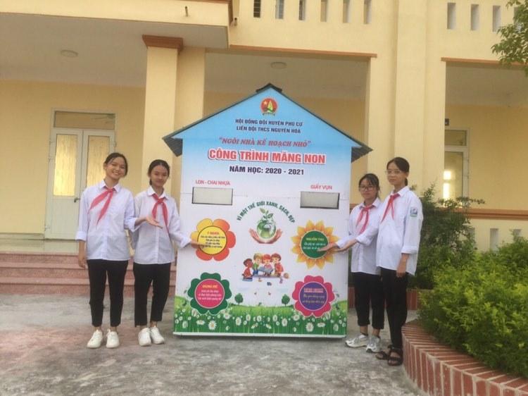 Hội đồng Đội huyện Phù Cừ với phong trào Kế hoạch nhỏ