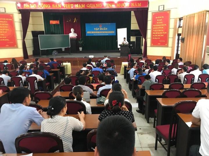 Tỉnh đoàn tập huấn thông tin tuyên truyền, đối ngoại cho cán bộ, đoàn viên thanh niên tỉnh Hưng Yên năm 2019