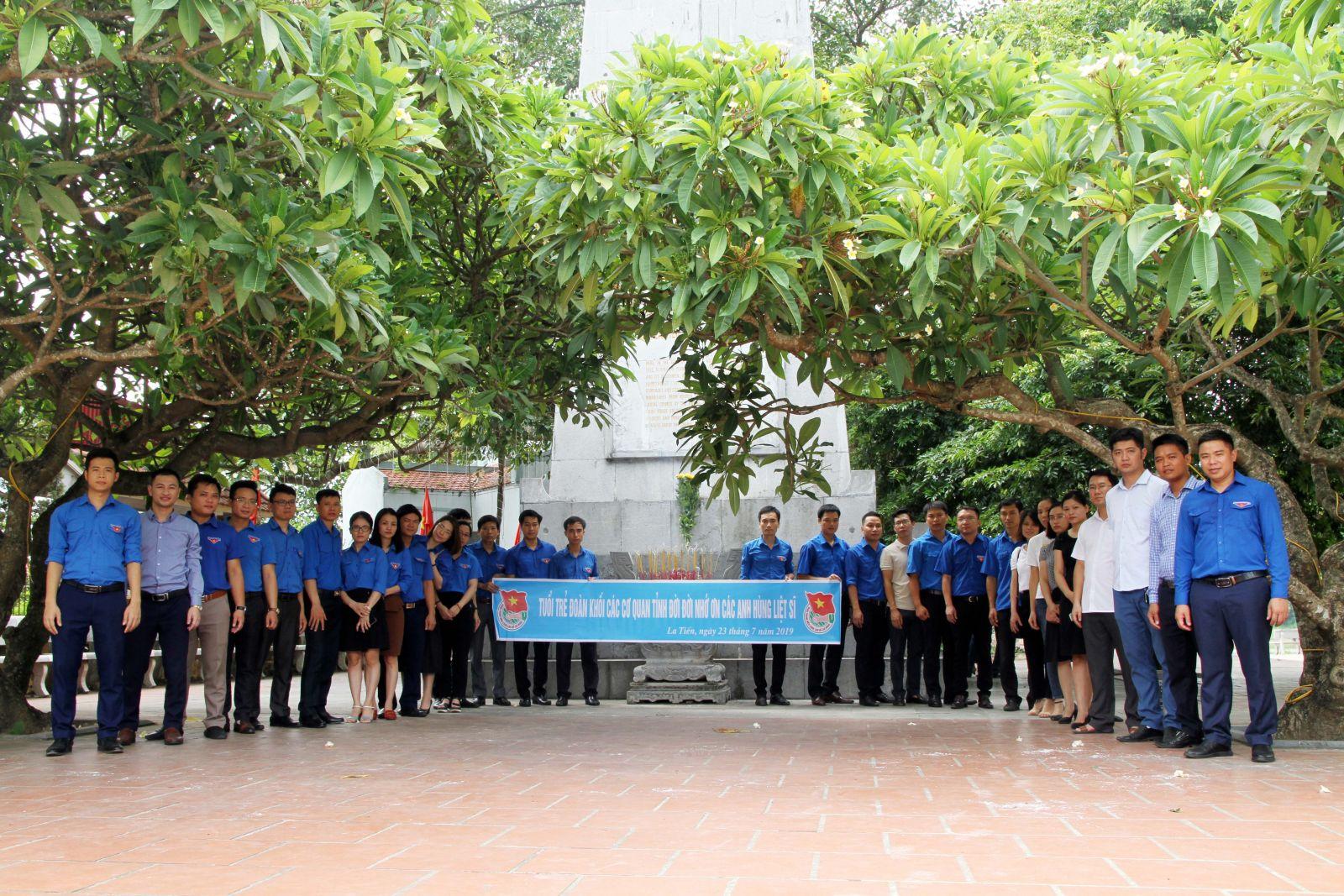 Đoàn khối các cơ quan tỉnh:  Sôi nổi các hoạt động kỷ niệm 72 năm ngày Thương binh liệt sỹ.