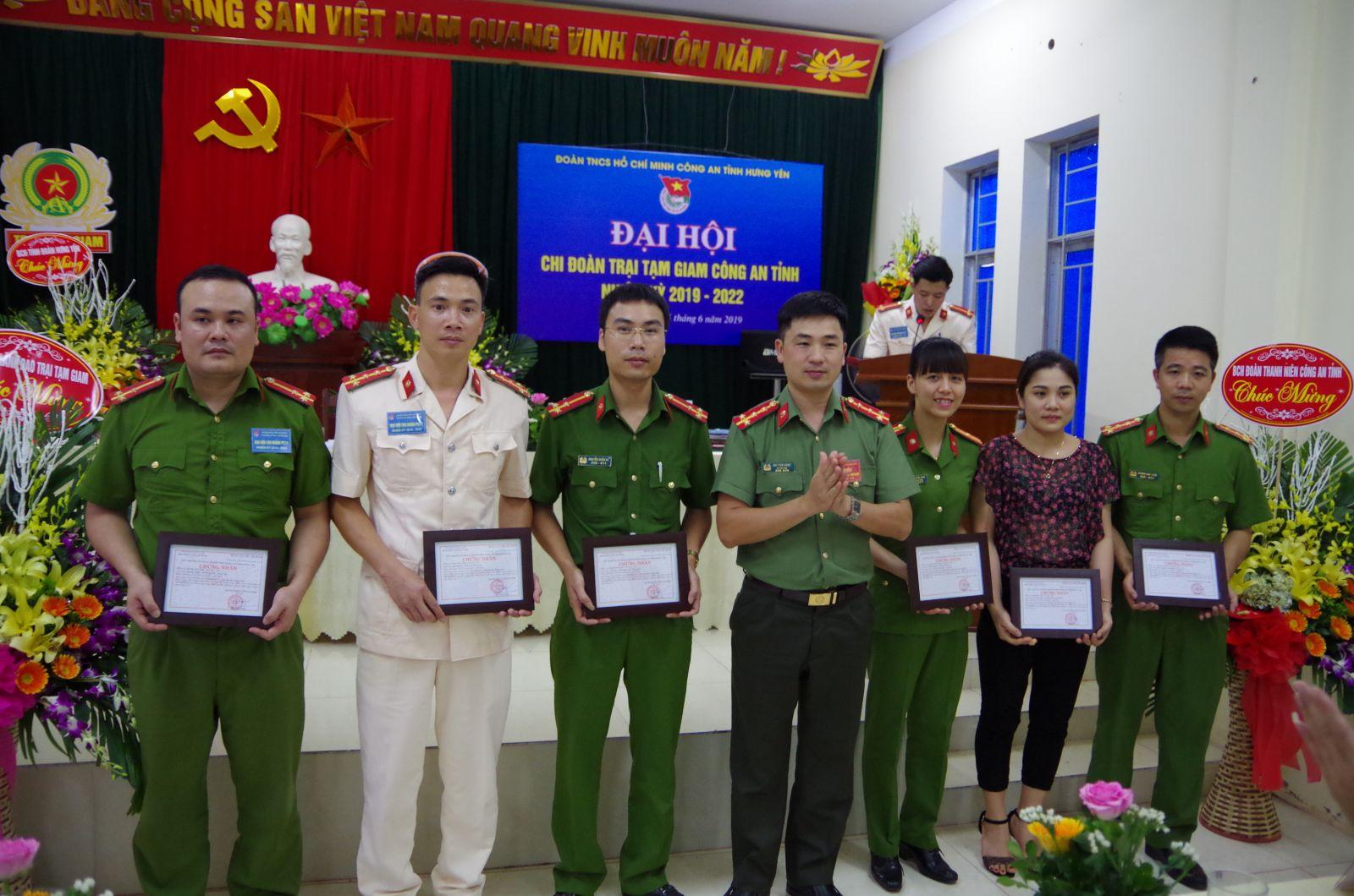 Đoàn thanh niên Công an tỉnh tổ chức Đại hội điểm cấp cơ sở, nhiệm kỳ 2019-2022