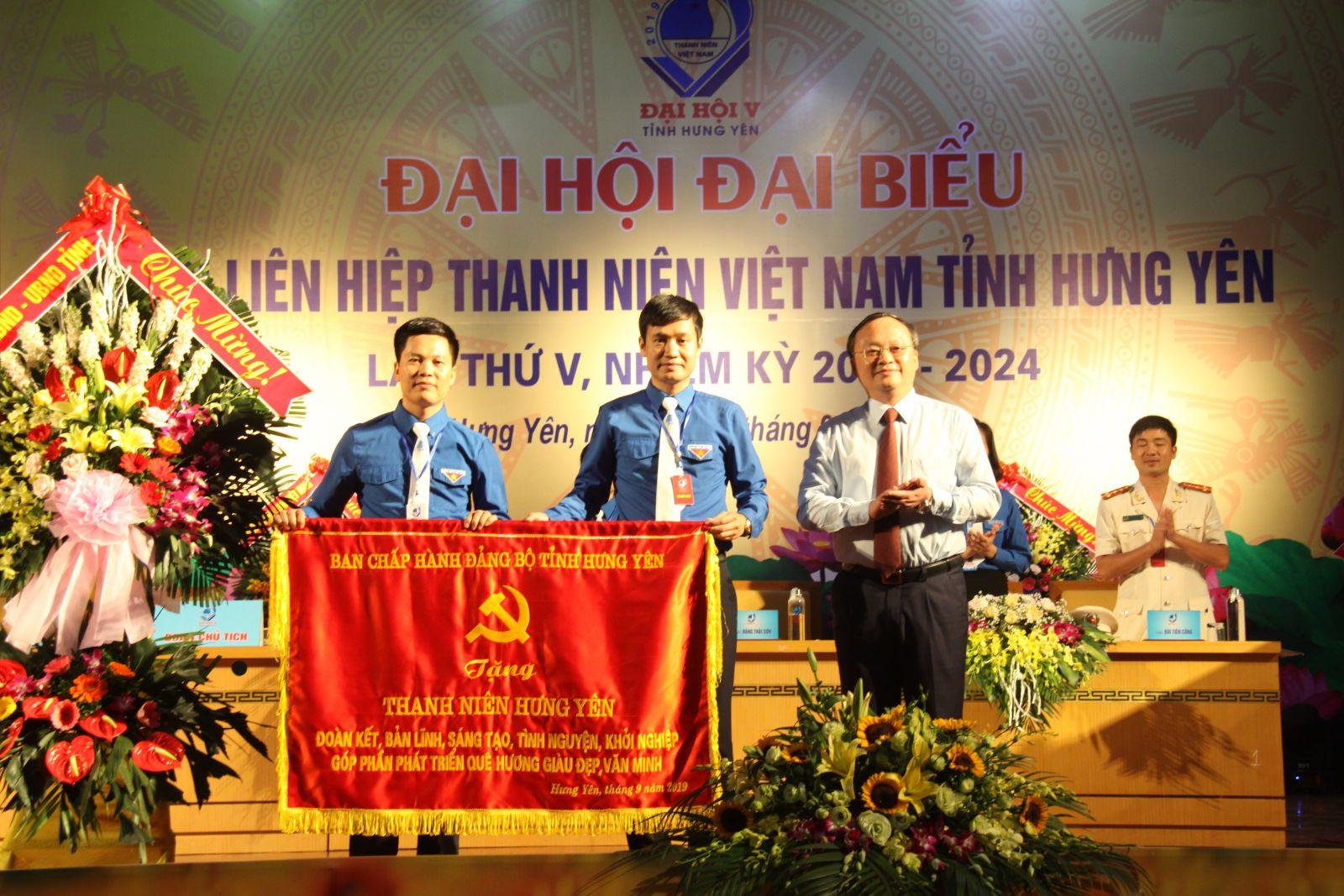 Đại Hội Hội Liên hiệp Thanh niên Việt Nam tỉnh Hưng Yên, lần thứ V, nhiệm kỳ 2019 – 2024