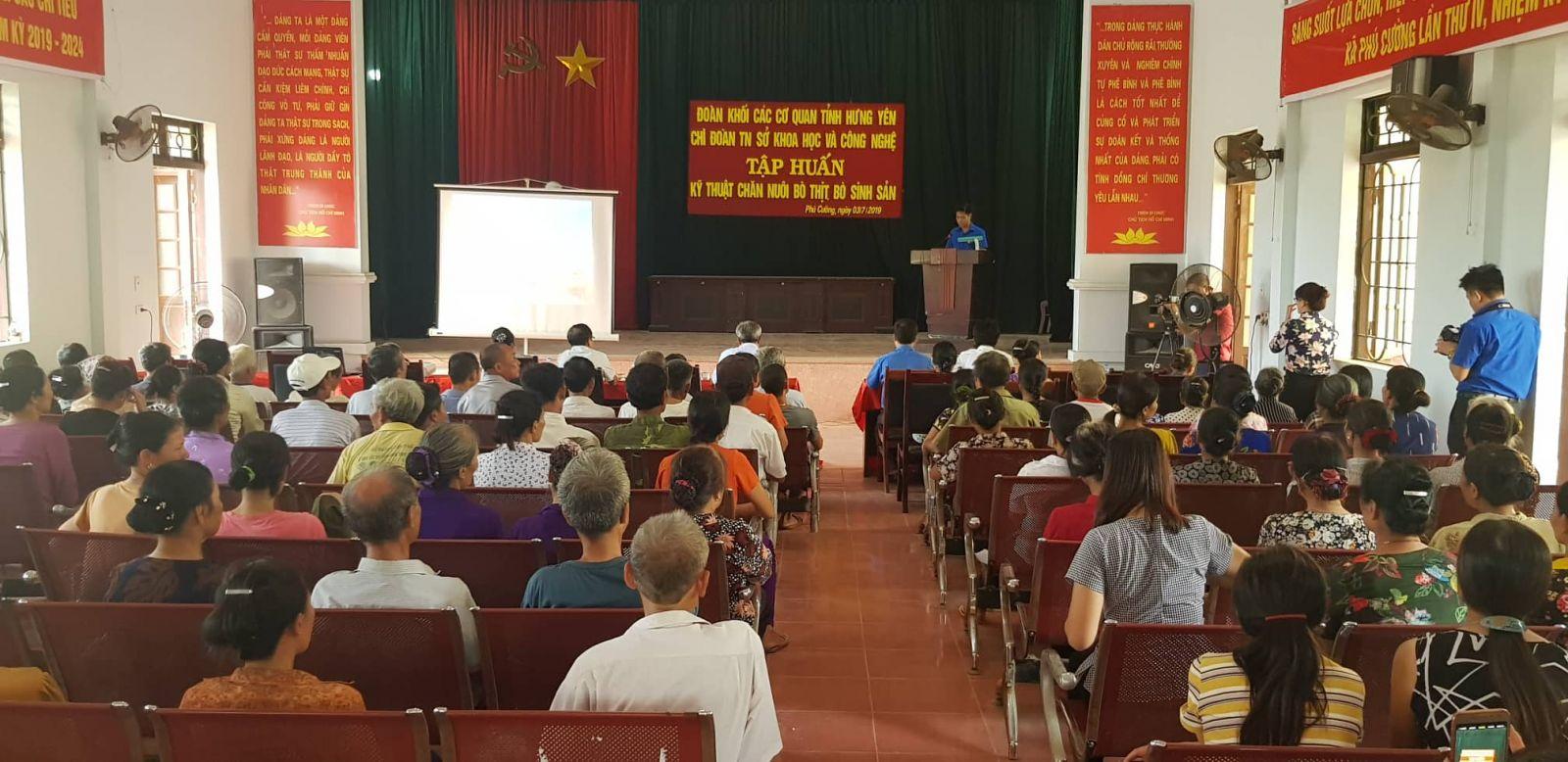 """Đội Tri thức trẻ tỉnh tổ chức các hoạt động """"Hỗ trợ nhân dân  phát triển kinh tế và tập huấn chuyển giao khoa học kỹ thuật trong nông nghiệp"""""""