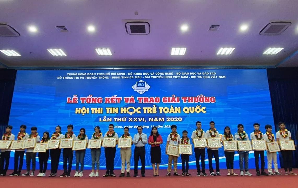 Gương học sinh tiêu biểu tỉnh Hưng Yên đạt giải Ba Hội thi Tin học trẻ Toàn quốc năm 2020