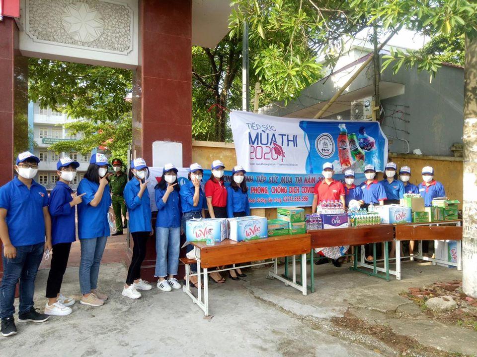 Hưng Yên: Sôi nổi các hoạt động Tiếp sức mùa thi năm 2020