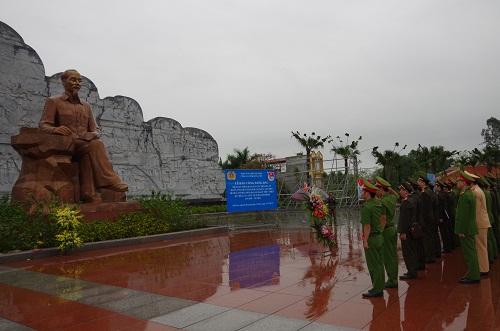 Đoàn TN Công an tỉnh tổ chức các hoạt động thiết thực kỷ niệm 88 năm Ngày thành lập Đoàn TNCS Hồ Chí Minh và 50 Năm Ngày thực hiện Di chúc của Chủ tịch Hồ Chí Minh