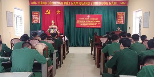 Đoàn cơ sở phòng tham mưu Bộ CHQS tỉnh tổ chức Ngày đoàn viên năm 2019