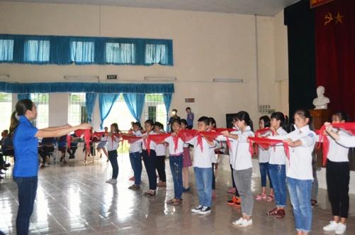 Nhà Thiếu nhi tỉnh Hưng Yên duy trì hiệu quả Câu lạc bộ Chỉ huy Đội