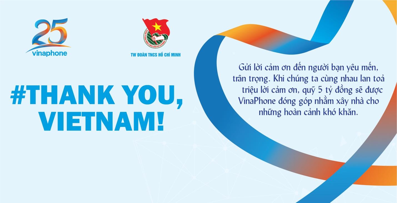 #THANK YOU, VIET NAM! – CÙNG CHÚNG TÔI NÓI LỜI CẢM ƠN