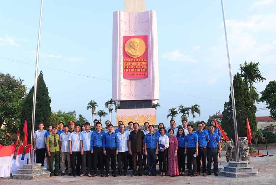 Ban Thường vụ Tỉnh đoàn Khánh thành Công trình thanh niên cấp tỉnh năm 2019
