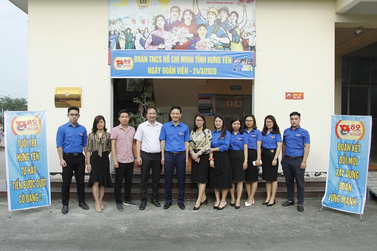 Tỉnh đoàn Hưng Yên tổ chức Ngày đoàn viên năm 2020