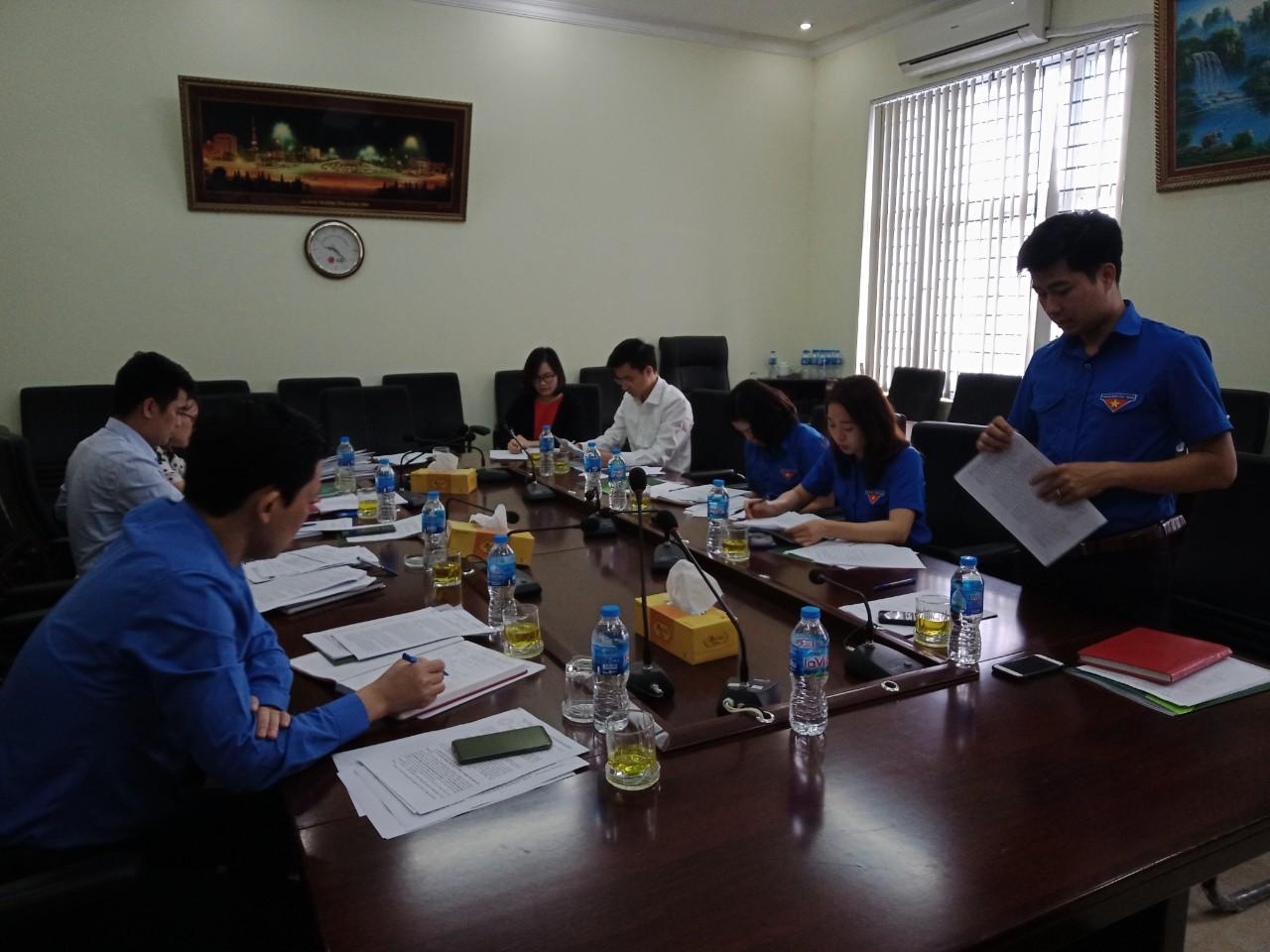 Ủy ban Kiểm tra Tỉnh đoàn kiểm tra chuyên đề công tác quản lý đoàn viên,  việc thu, chi và sử dụng các nguồn quỹ khác của Đoàn năm 2020