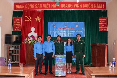 Ban Thường vụ Tỉnh đoàn, Hội Liên hiệp Thanh niên Việt Nam tỉnh tham gia khắc phục biến đổi khí hậu tại biên giới Việt -¬ Lào (Sơn La)