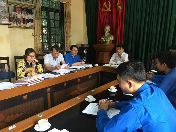 Ủy ban Kiểm tra Tỉnh đoàn Kiểm tra chuyên đề thực hiện  Chương trình liên tịch giữa Đoàn TNCS Hồ Chí Minh và  Chi nhánh Ngân hàng chính sách xã hội tỉnh Hưng Yên năm 2019