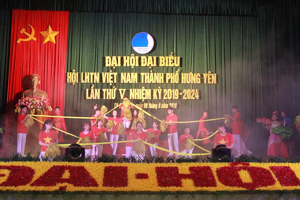 Hội LHTN Việt Nam thành phố Hưng yên tổ chức thành công Đại hội lần thứ V, nhiệm kỳ 2019 - 2024