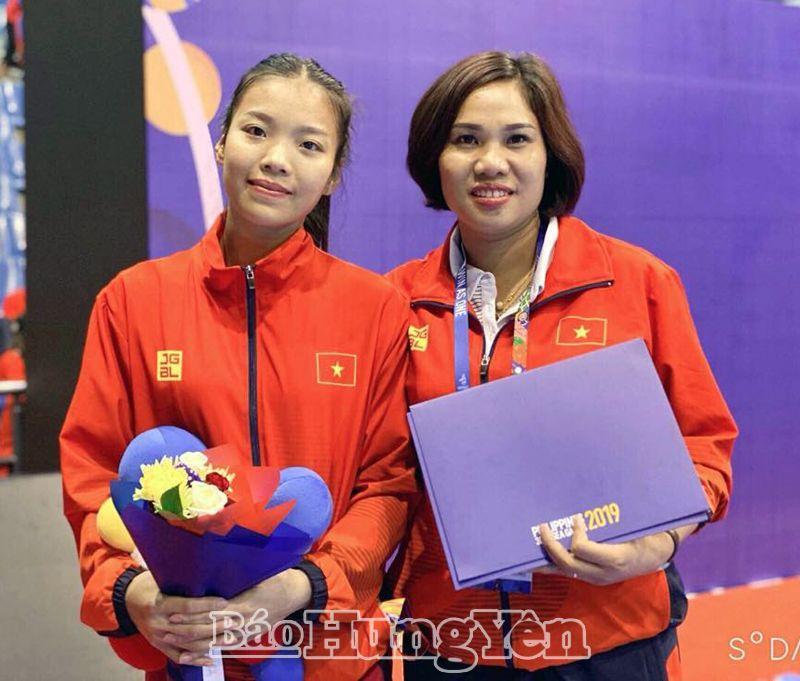 Hai gương mặt xuất sắc của thể thao Hưng Yên tại đấu trường SEA Games 30