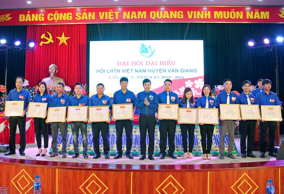 Đại hội đại biểu Hội Liên hiệp thanh niên Việt Nam huyện Văn Giang lần thứ V, nhiệm kỳ 2019 - 2024