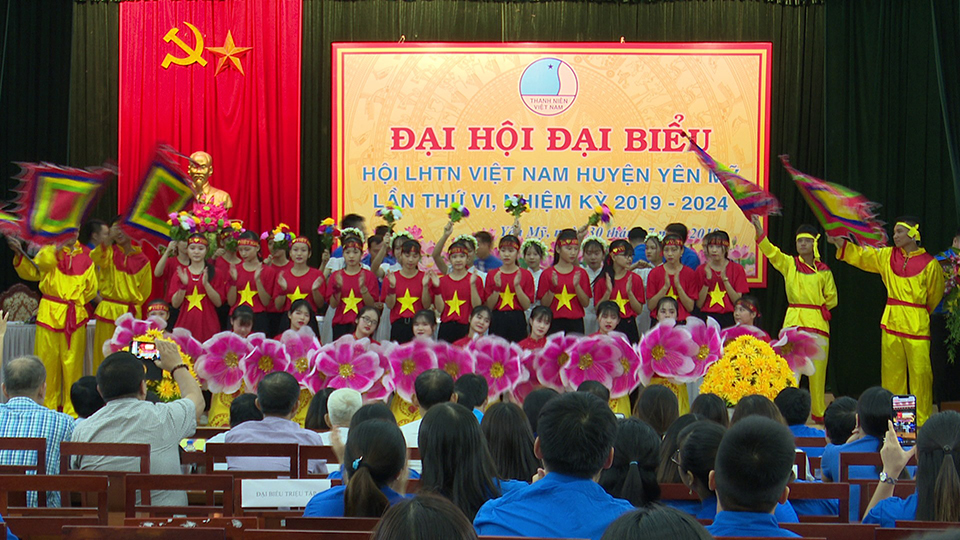 Hội LHTN Việt Nam Huyện Yên Mỹ tổ chức thành công Đại hội Hội LHTN Việt Nam huyện lần thứ VI, nhiệm kỳ 2019 - 2024